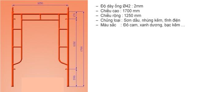 dàn giáo khung 1,7m hiệp anh khoa